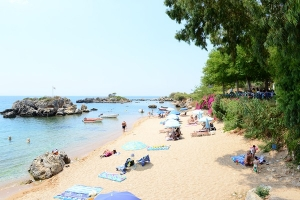 Stoupa beach